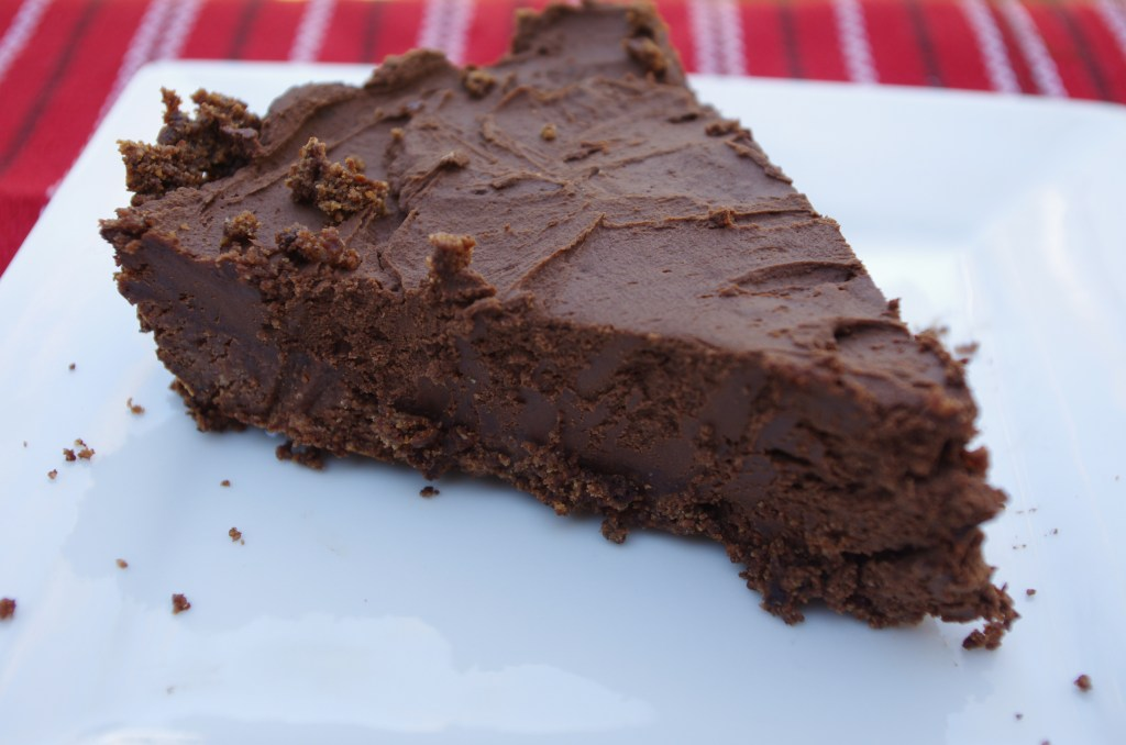 dairy free chocolate chiffon pie