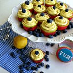 Semi-Homemade Lemon Blueberry Cupcakes