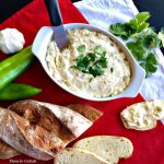 Green Chile Cheese Spread~ Thyme for Cocktails