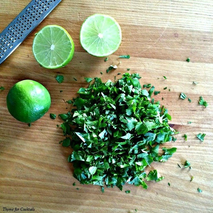 Cilantro Lime Chicken& Rice~ Thyme for Cocktails