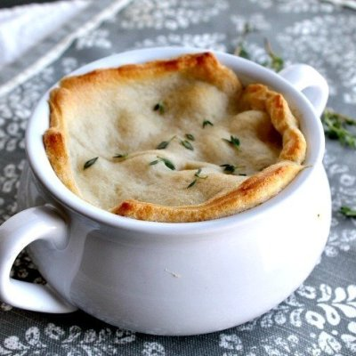 Crescent Rolls Cheesy Ham Potato Pot Pies