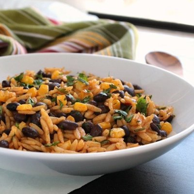 Chili Lime Orzo Salad
