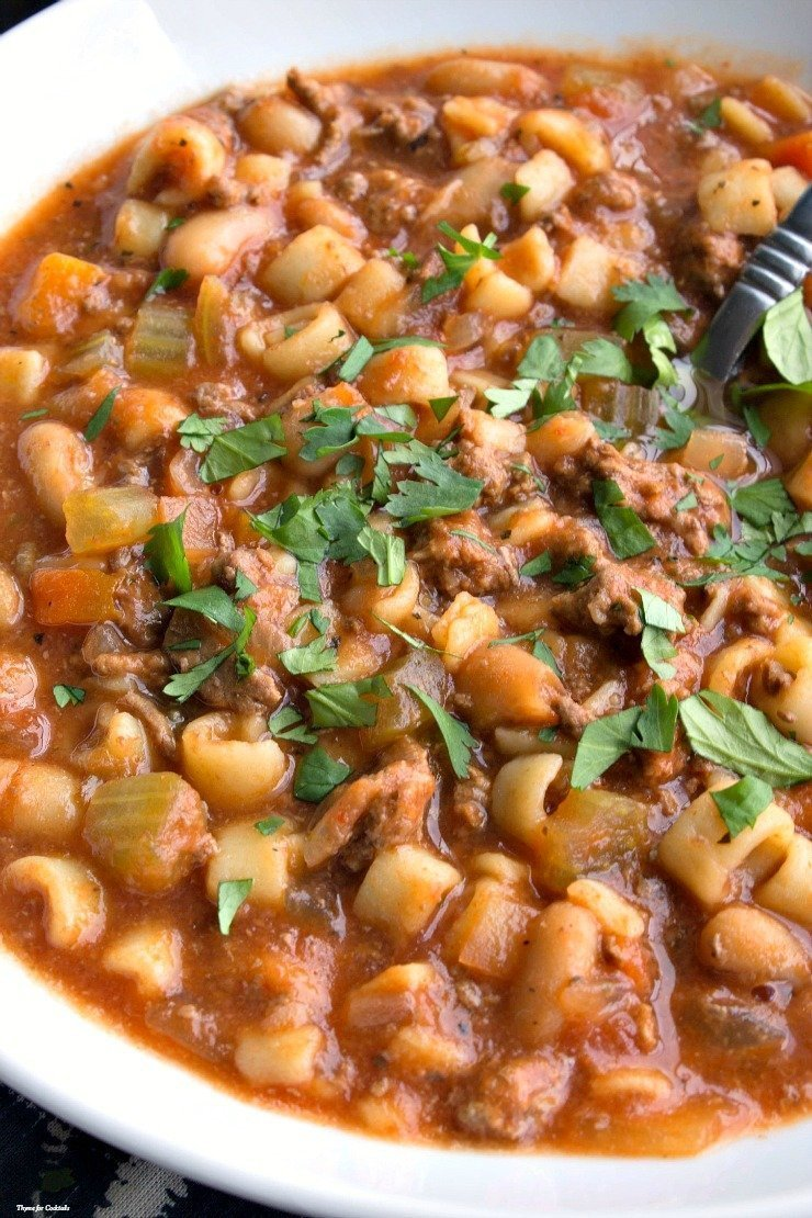 Pasta e fagioli recipe crock pot