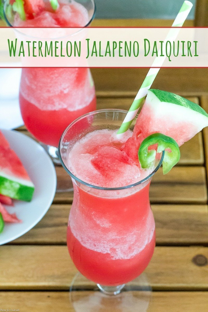 Watermelon Jalapeno Daiquiri