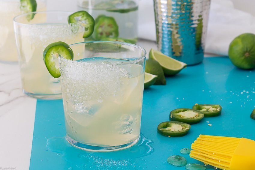 Spicy Tangerine Margarita Recipe
