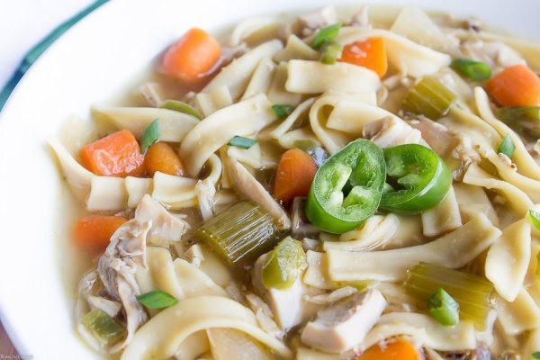 20 Minute Spicy Rotisserie Chicken Soup