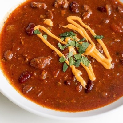 The Best Slow Cooker Sweet Bourbon Pork Chili Recipe