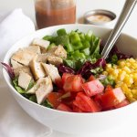 Barbecue Chicken Chopped Salad
