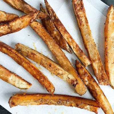 Spicy Oven Baked Taco Fries