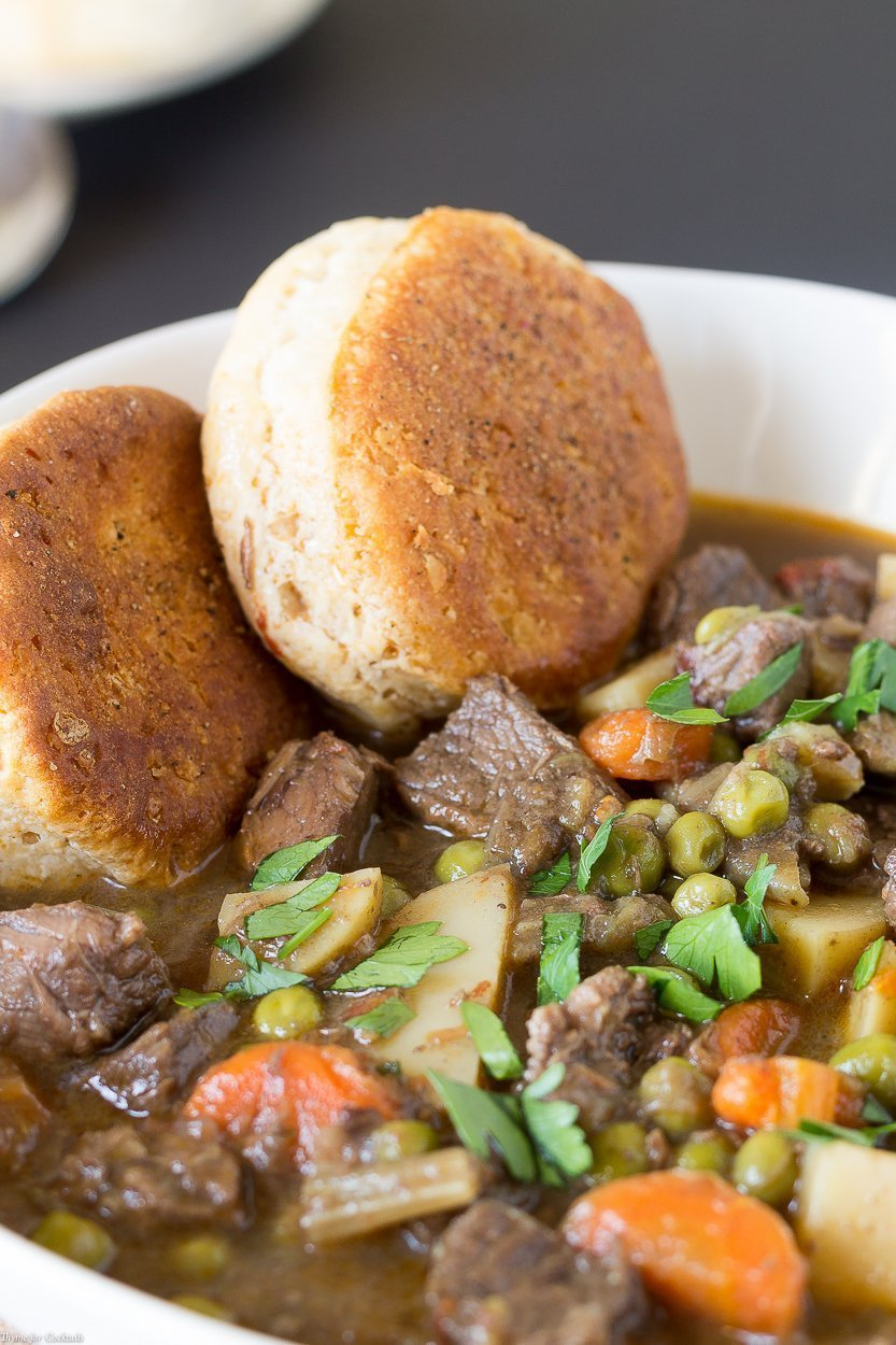 It's fun to add a simple ingredient to a classic recipe giving it a new twist! ThisSlow Cooked Chipotle Beef Stew recipe has a touch of the southwest.