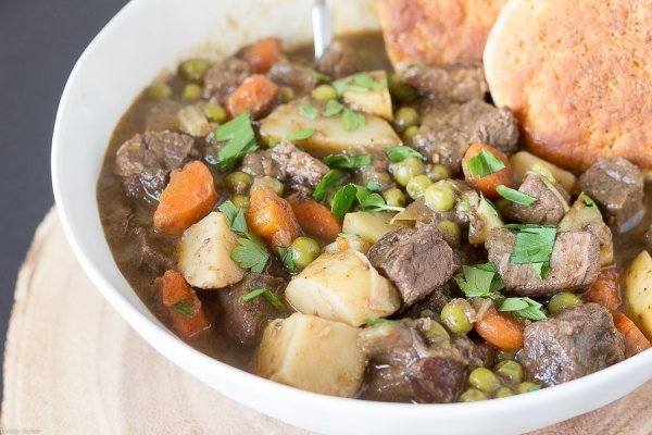 It's fun to add a simple ingredient to a classic recipe giving it a new twist! This Slow Cooked Chipotle Beef Stew recipe has a touch of the southwest.