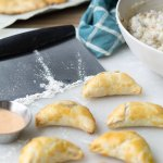 You need to stop what you are doing because theseBaked Green Chile Pork Empanadas full of rich, creamy mashed potatoes are your new favorite easy appetizer.