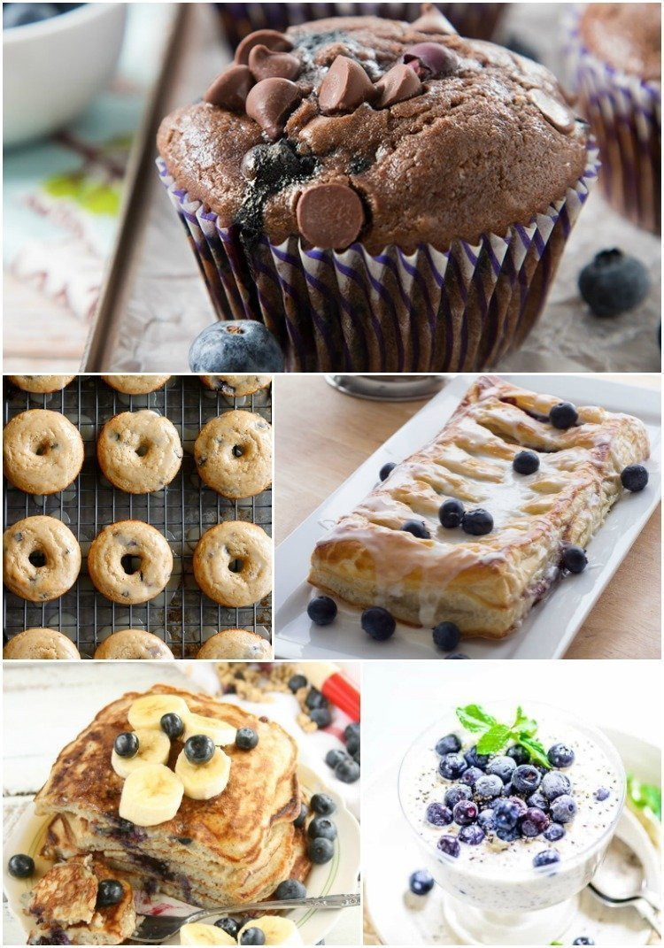 Fresh Blueberry Recipes- Blueberry Breakfast recipes