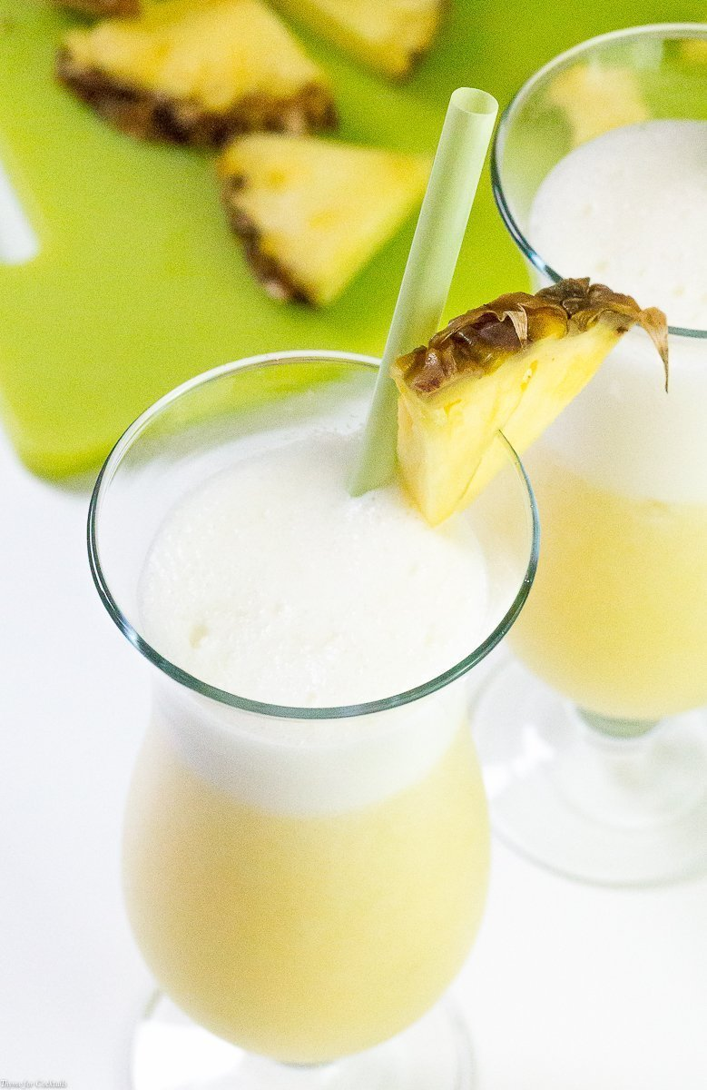 Lighter Pina Colada Recipe