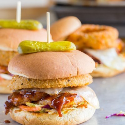 Bourbon Barbecue Grilled Chicken Sandwiches