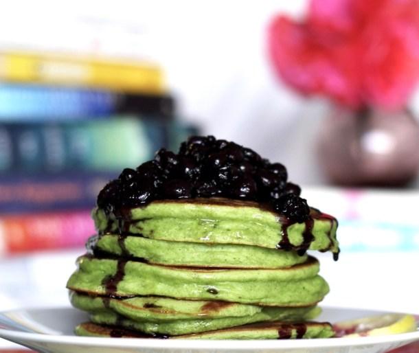 Spinach Whole Milk Yogurt Pancakes
