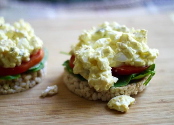 greek yogurt egg salad