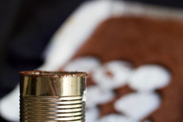 Chocolate Maple Cream Cake Stacks