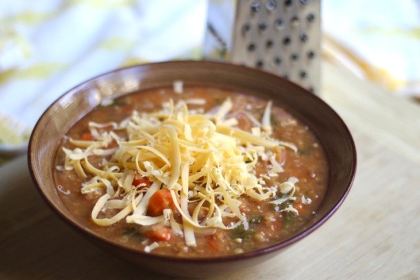Hearty Bone Broth Lentil Soup