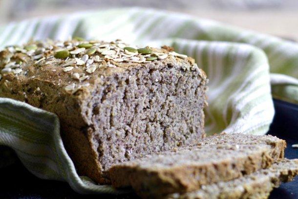 Homemade Gluten Free Buckwheat Bread
