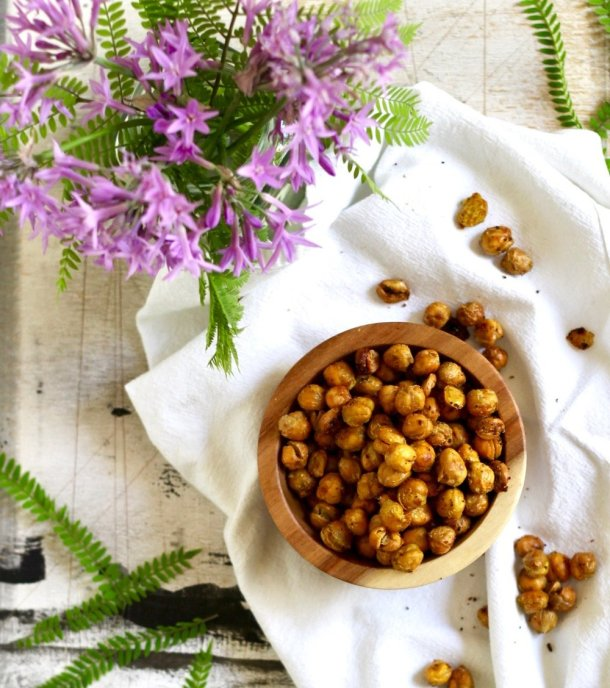 Baked Chickpea Snacks