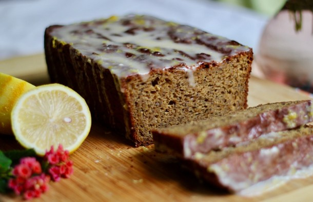 GF lemon poppyseed loaf
