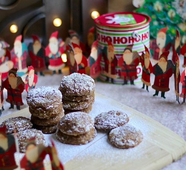 Gluten-free Gingerbread Muffin Top Cookies