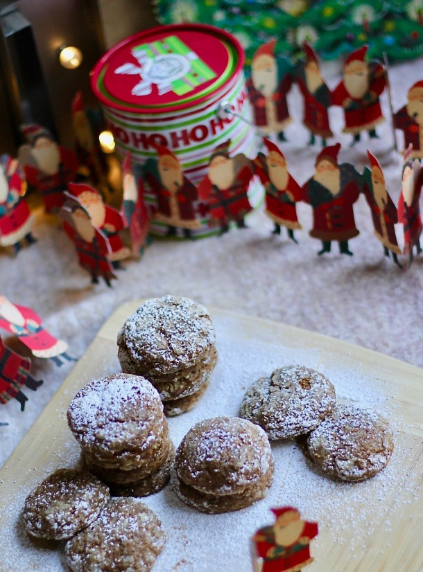 Gluten-free Gingerbread Muffin Top Cookies