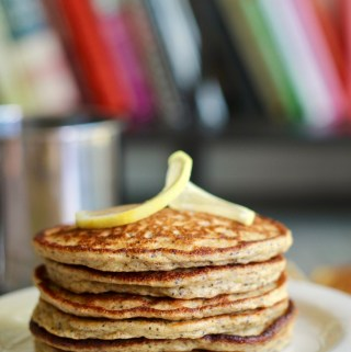 Lemon Poppyseed Yogurt Pancakes