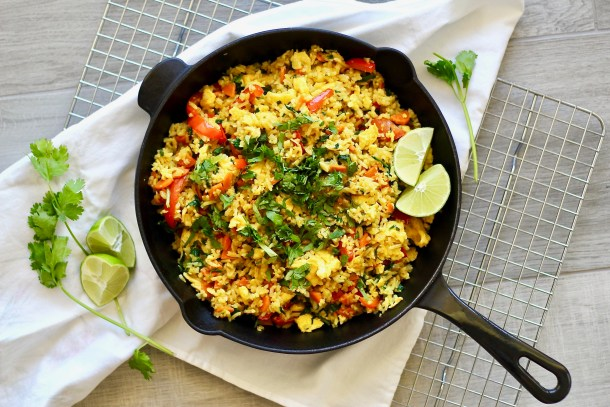 Cauliflower Jasmine Fried Rice