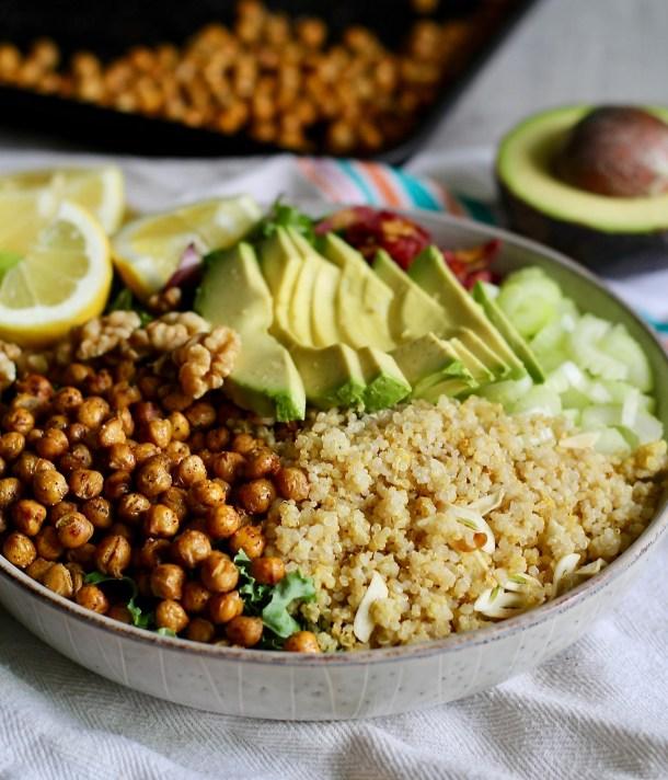Crunchy Quinoa Power Salad