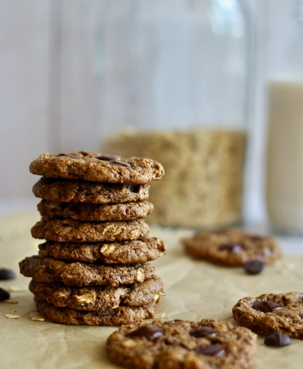 Chewy Vegan Almond Butter Cookies
