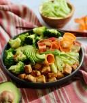 Deconstructed Veggie Sushi Bowl