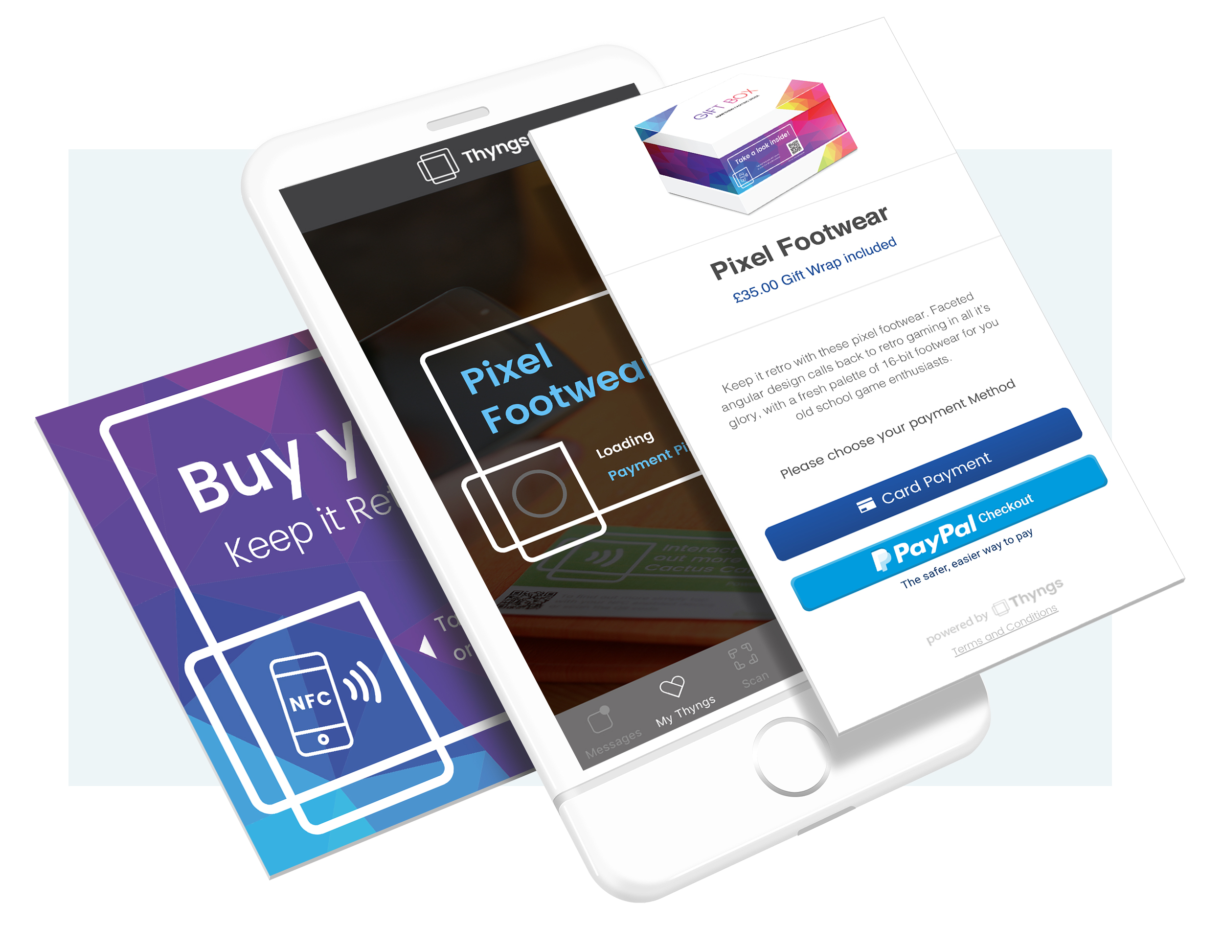 Thyngs partners with PayPal for cashless payments