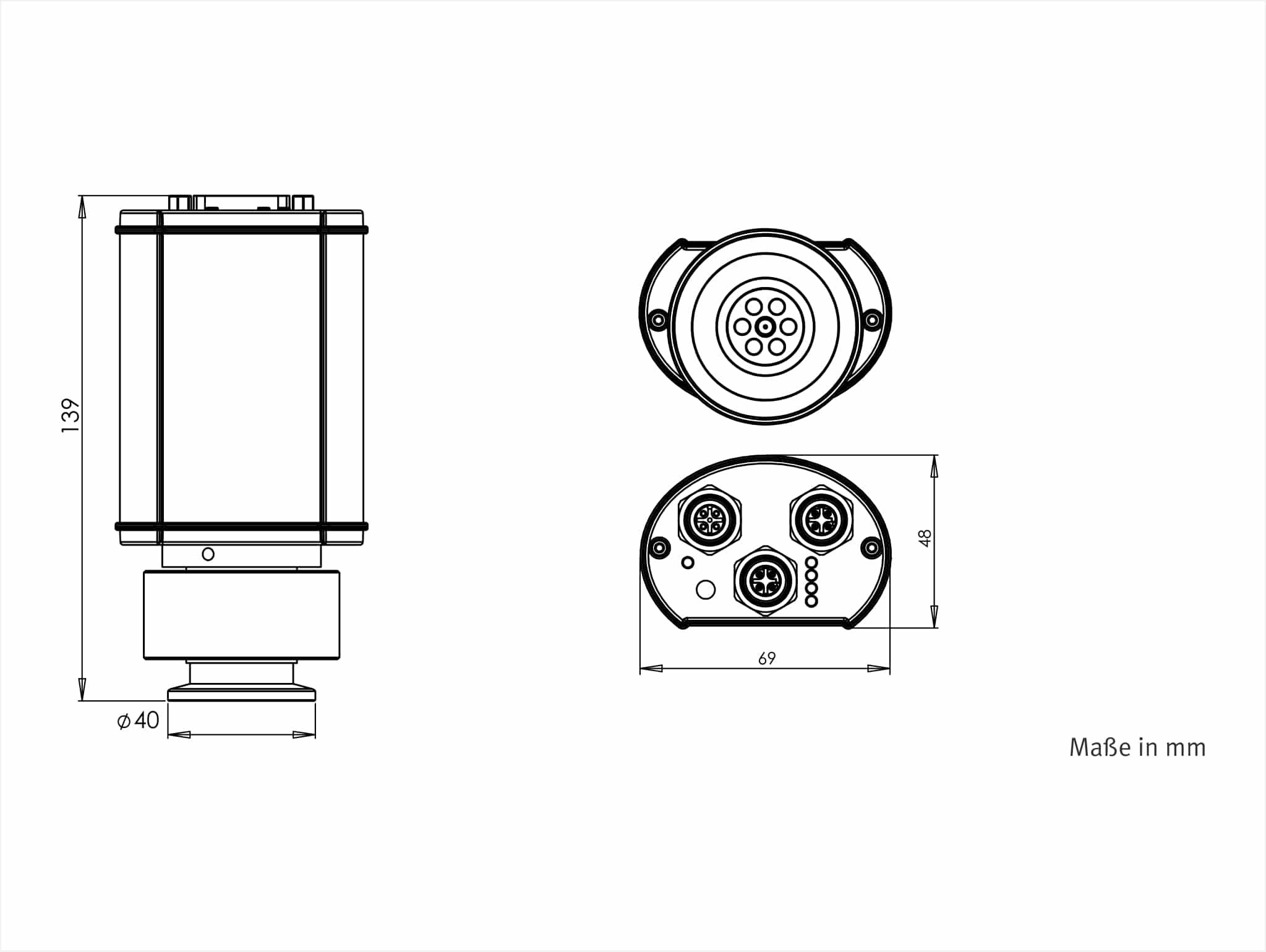 Vsm7xe Vacuum Transducer Ethercat Pirani Kaltkathode To 5e 9 Mbar