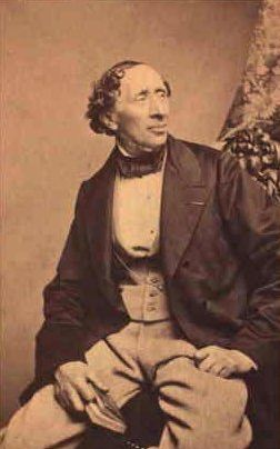 Hans Christian Andersen, the dandy
