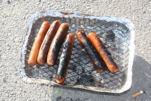 Scandinavians like our non-fancy grills - and our black-on-the-outside-raw-on-the-inside sausages