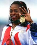 Gail Devers Oliympic Gold Medalist Graves'Disease