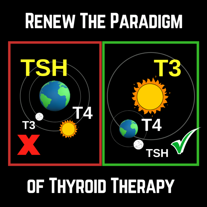 Renew the paradigm of thyroid therapy