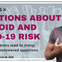 Questions about thyroid and COVID-19 risk