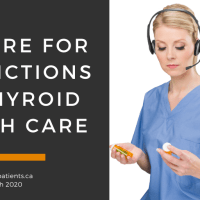 How can we prepare for restrictions on thyroid health care?