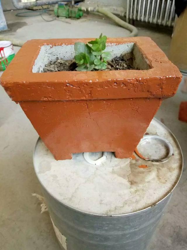 DIY:自製水泥多肉花盆(2) - 每日頭條
