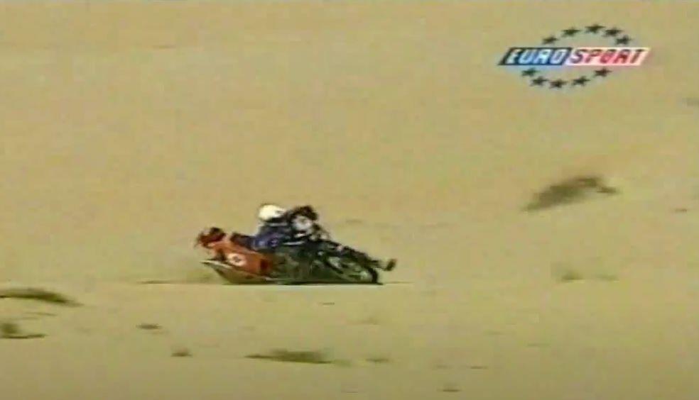 Kalli á Eurosport 1998