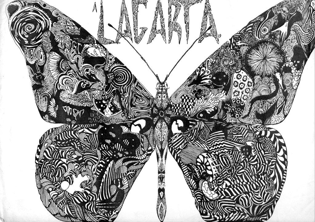 Desenho realizado a três mãos, com Fulvio Martins e Marcello Pedroso