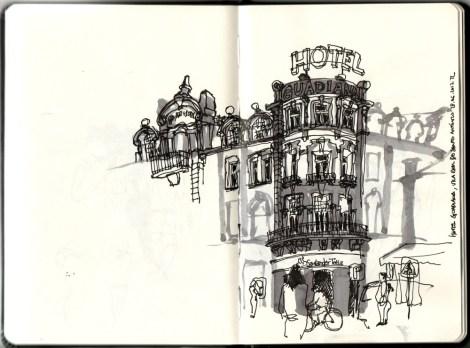 Hotel Guadiana em Vila Real de Santo António
