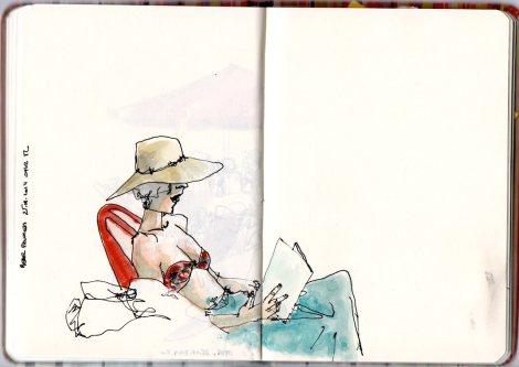 Nazlı reading
