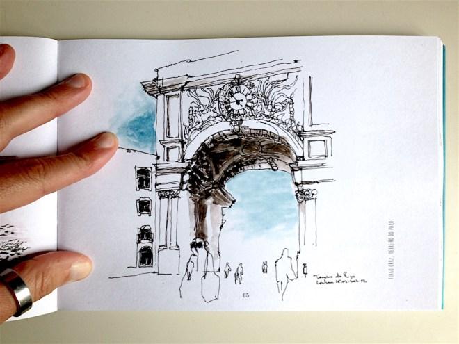 Lisboa por Urban Sketchers