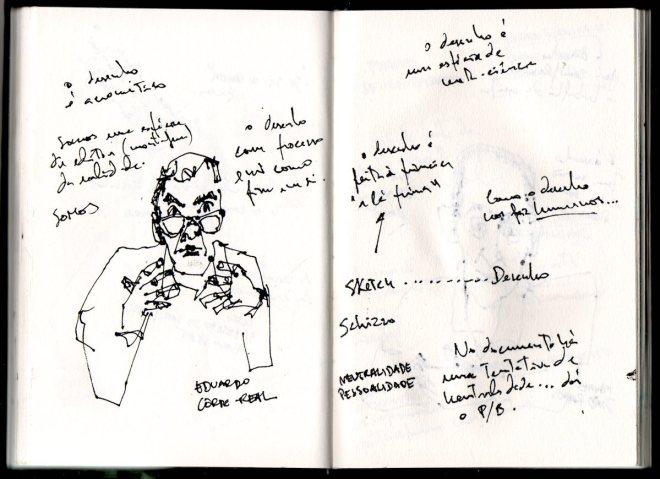 Eduardo Corte-Real, Nós e os Cadernos