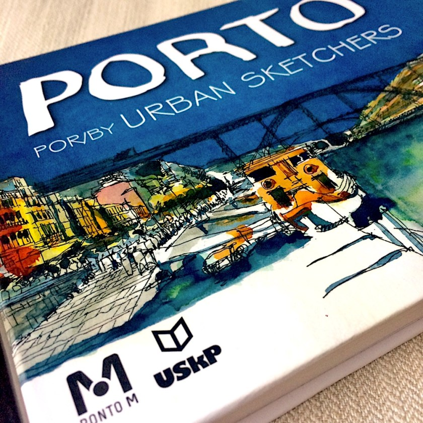 Capa do livro Porto by Urban Sketchers