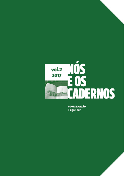 Capa do livro Nós e os Cadernos vol.2